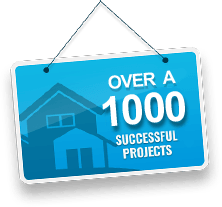 over 1000 projects