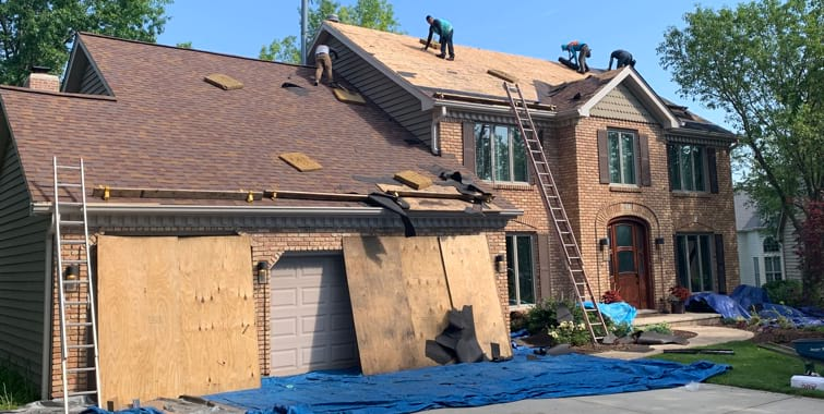 2019 Roof Replacement Repair Installation Costs In Dupage County