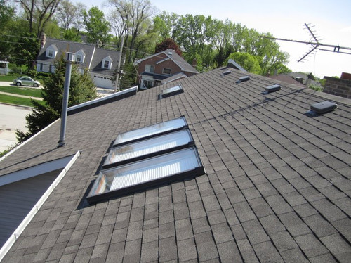 House after roofing installation in Downers Grove