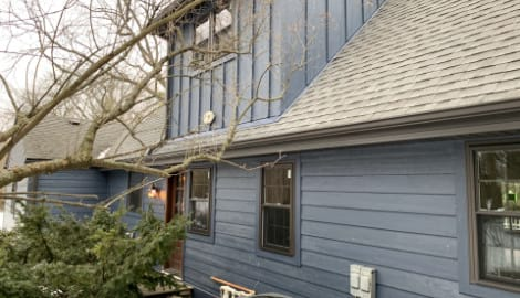 LP SmartSide siding replacement project in Prospect Heights project photo 2