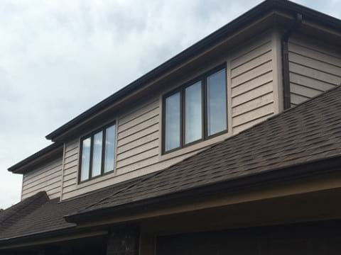 Cedar siding installation in Downers Grove project photo 1
