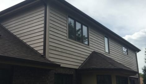 Cedar siding installation in Downers Grove project photo 3