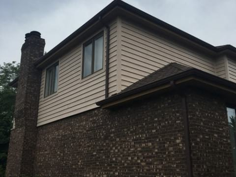 Cedar siding installation in Downers Grove project photo 5
