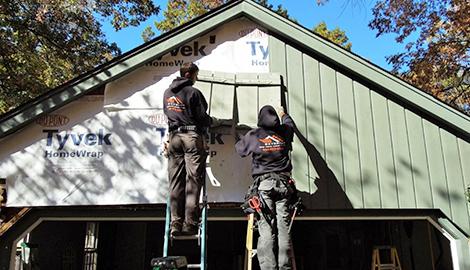 Cedar Siding Installation Project In Rolling Meadows Il