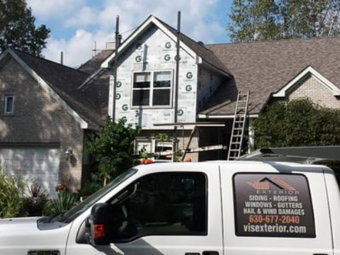 Hail damage repair in Gurnee project photo 4