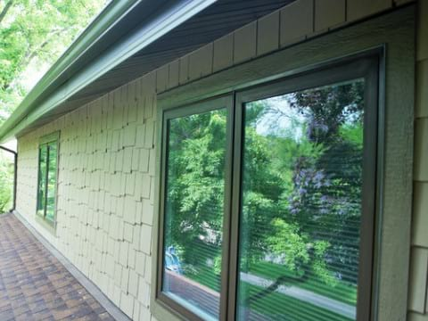 James Hardie lap siding installation in Northbrook project photo 6