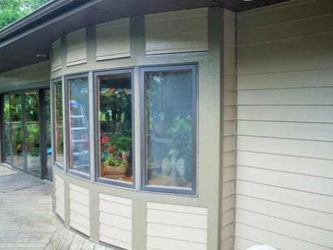James Hardie lap siding installation in Northbrook project photo 7