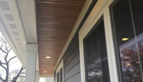 James Hardie fiber cement siding installation in Northbrook project photo 4