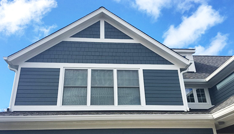 James hardie siding installation project northbrook il for Hardie shake siding cost