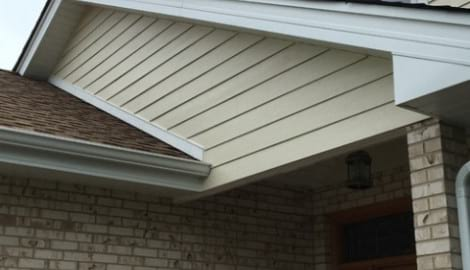 James Hardie siding installation and shingle roof replacement in Orland Park project photo 2