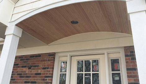 LP Diamond Kote siding and gutters installation in Naperville