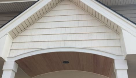 LP Diamond Kote siding installation and gutters replacement in Naperville project photo 10