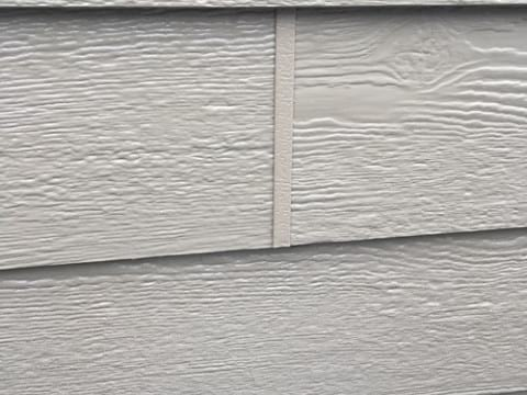 LP Diamond Kote siding installation and gutters replacement in Naperville project photo 14