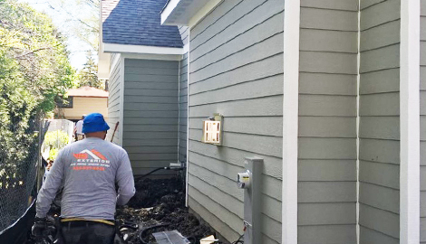 Lp Smartside Wood Siding Installation Project Downers Grove Il