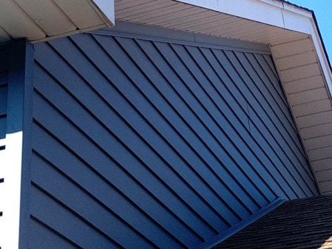 Royal vinyl Insulated & Shake and Shingles siding installation in Lemont project photo 3