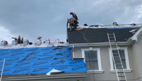 Shingle roof replacement in Willow Springs project photo 5