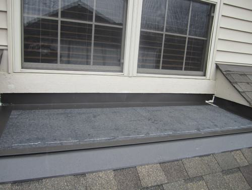 Hail Damage Repair Project In Naperville Il Exterior