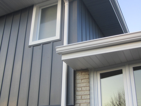 Vinyl Siding Shingle Roof Replacement Project Downers Grove Il