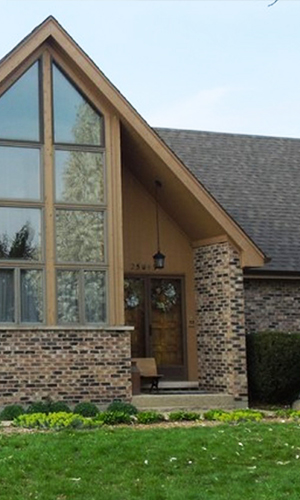Naperville roofing project photo after roof replacement with architectural IKO shingles