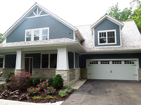 James Hardie Siding Installation Project Northbrook Il