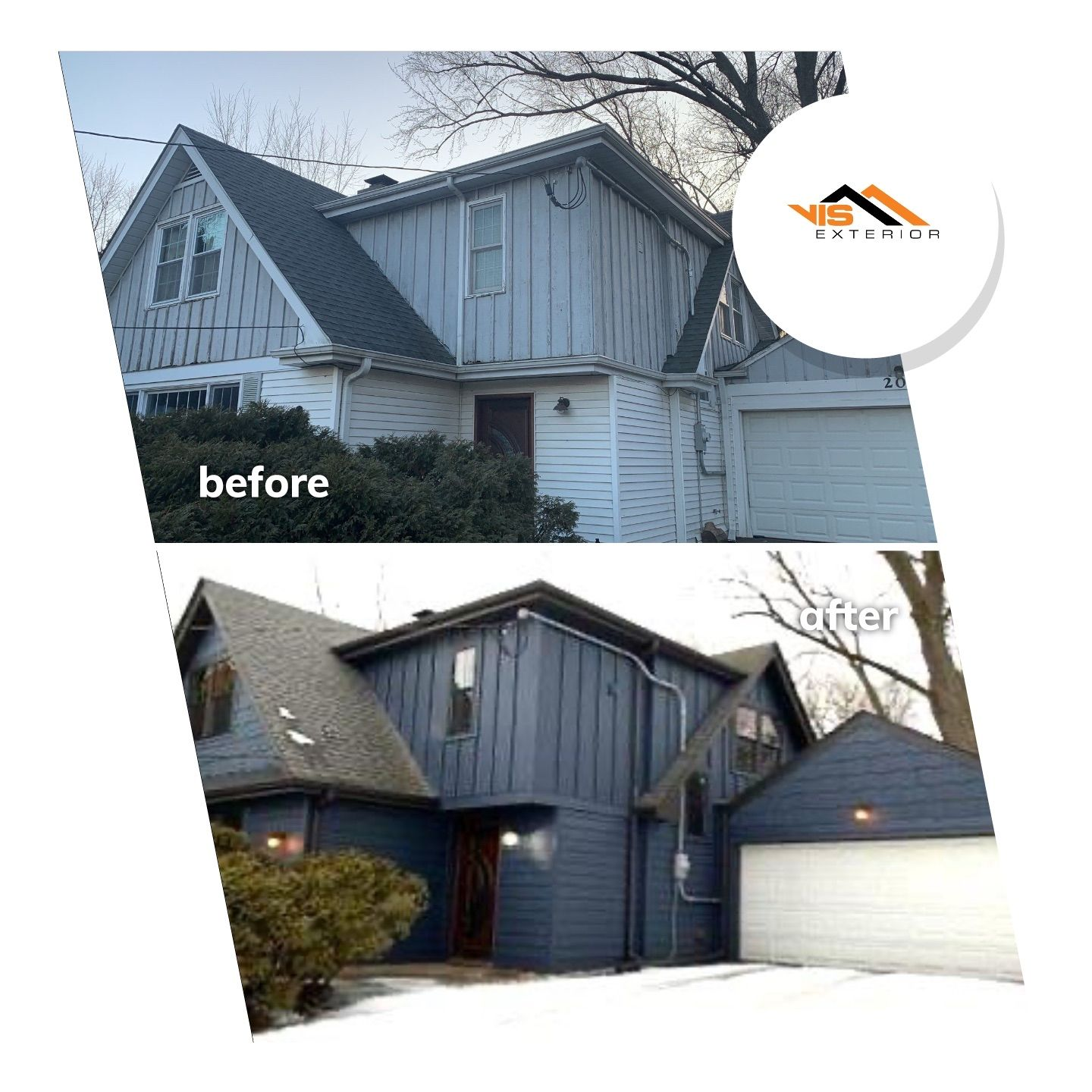 LP SmartSide siding and windows in Prospect Heights, IL