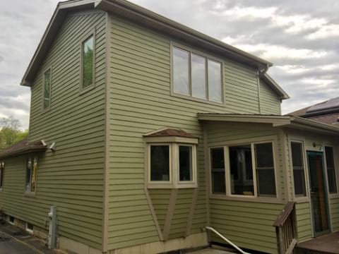LP SmartSide siding and gutters replacement in Downers Grove project photo 20