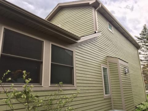 LP SmartSide siding and gutters replacement in Downers Grove project photo 4