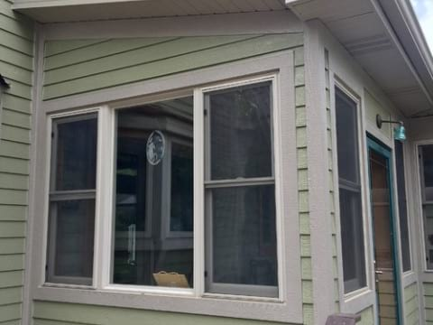 LP SmartSide siding and gutters replacement in Downers Grove project photo 7