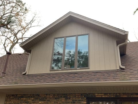 LP SmartSide siding replacement in Oak Brook project photo 2