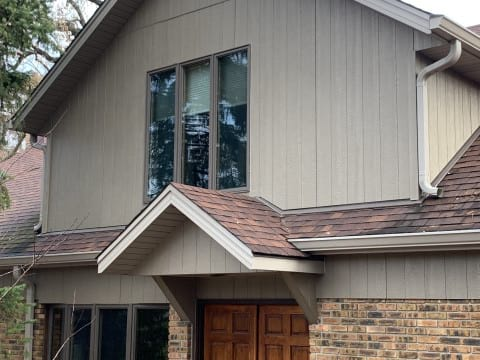 LP SmartSide siding replacement in Oak Brook project photo 3