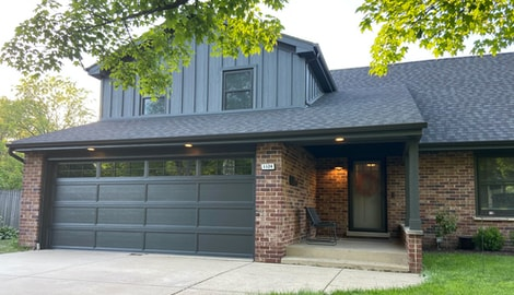 LP SmartSide siding replacement in Oak Brook project photo 1