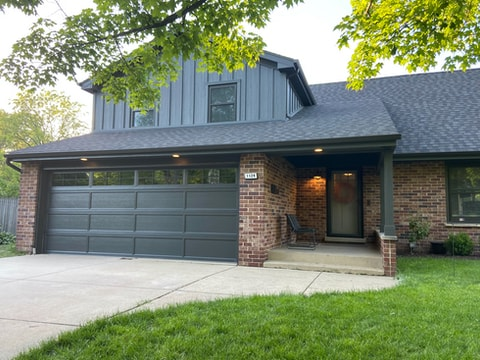LP SmartSide siding and roof replacement in Downers Grove project photo