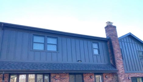 LP SmartSide siding replacement in Oak Brook project photo 5
