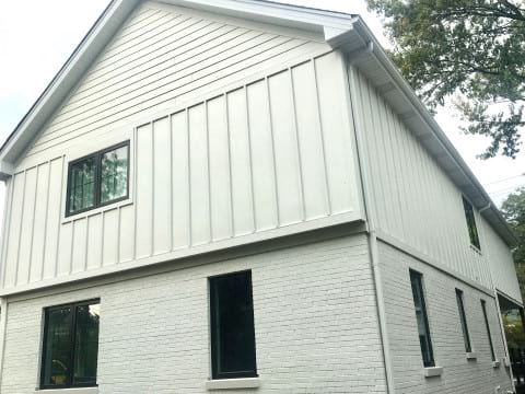 LP SmartSide siding and windows replacement in Hinsdale project photo 5